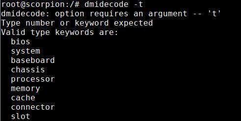 dmidecode